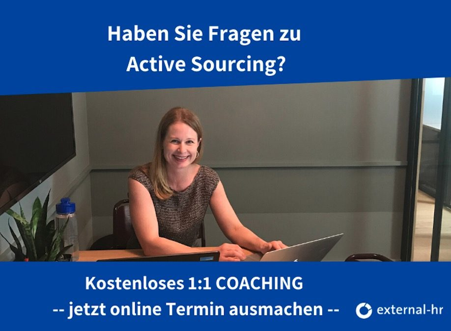 15 Minuten Coaching kostenlos Active Sourcing